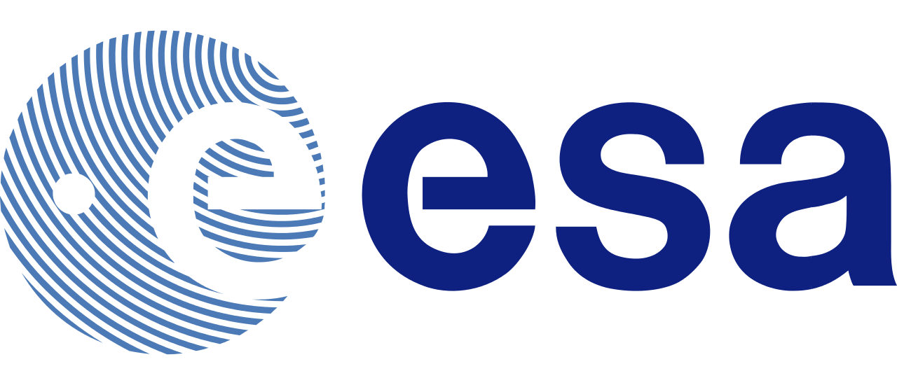 ESA logo. The European Space Agency is an intergovernmental organisation of 22 member states dedicated to the exploration of space.